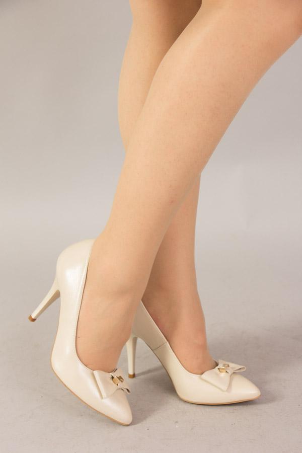 Pantofi De Mireasa Albi