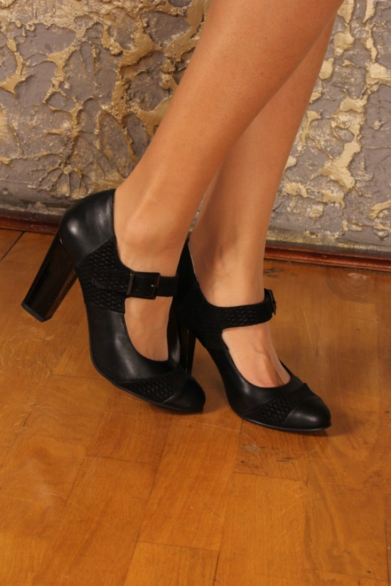 Pantofi din piele cu pret redus