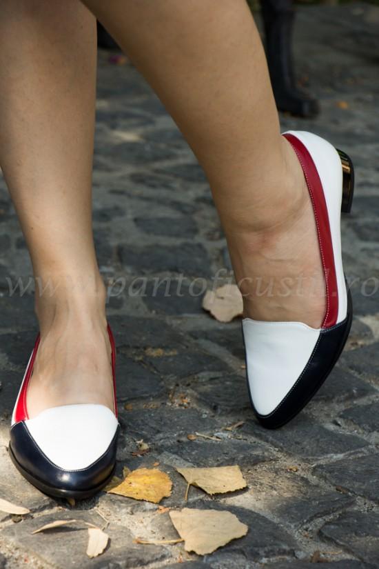 Pantofi casual cu talpa joasa